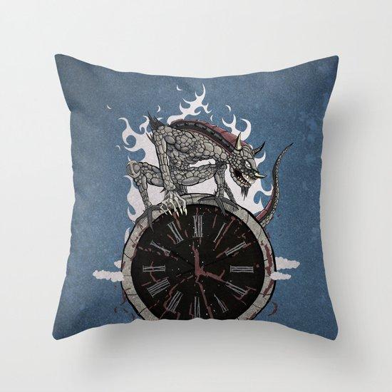 Guardian of Time Throw Pillow