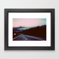 Comin' around the Mountain Framed Art Print