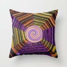 Celtic Spirals Throw Pillow