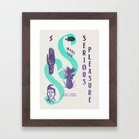 Waterman Framed Art Print