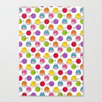 Polka Dots Canvas Print
