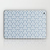 bishamon in monaco blue Laptop & iPad Skin