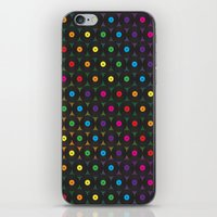 Disco Records iPhone & iPod Skin