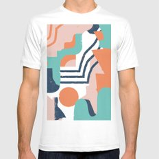 Smotth Senses SMALL White Mens Fitted Tee