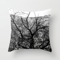 Castle Tree Throw Pillow