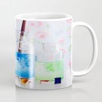 Watercolors. Mug