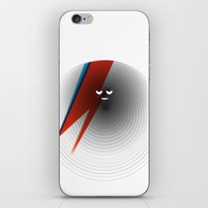 Round Bowie iPhone & iPod Skin