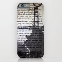 Golden Gate Bridge Text Collage iPhone 6 Slim Case