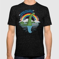The Lochness Connection Mens Fitted Tee Tri-Black SMALL