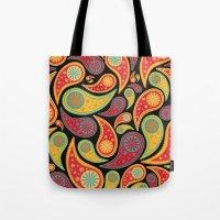 Bohemian Paisley  Tote Bag