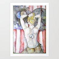 Freedom Isn't Free Art Print