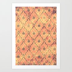 VICTORIAN SUNSET Art Print