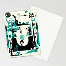 Time Alone Stationery Cards