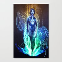 Cortana Canvas Print
