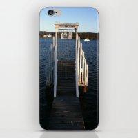 Wharf Walk iPhone & iPod Skin