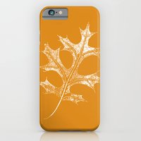 iPhone & iPod Case featuring Autumn Leaf by Negative Space