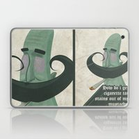Tar mustache Laptop & iPad Skin