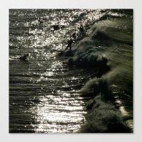 Dark Wave Canvas Print