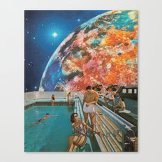 Moon Burn Canvas Print