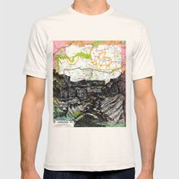 Arizona Mens Fitted Tee Natural SMALL