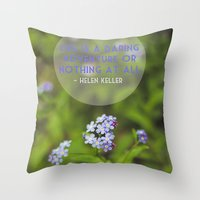 Life Is An Adventure. Throw Pillow