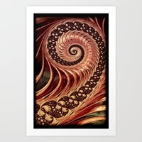 Fractals - For Iphone Art Print