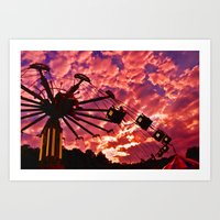 Summer Swing Art Print