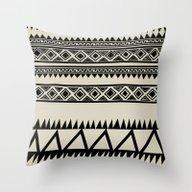 MALOU ZEBRA Throw Pillow
