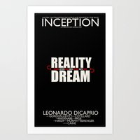 Inception Poster Art Print