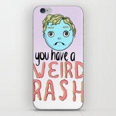 Weird Rash iPhone & iPod Skin