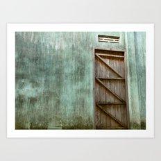 Lonely Door Art Print