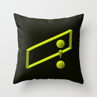 The LATERAL THINKING Pro… Throw Pillow