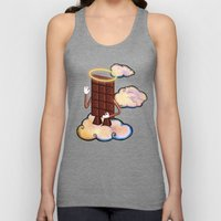May Chocolate Lord Bless… Unisex Tank Top