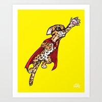 Super Ocelot Art Print