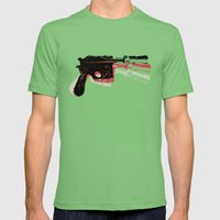 Blaster (Right) Mens Fitted Tee Grass SMALL