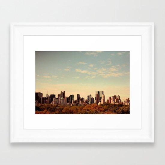 Skyline #1  Framed Art Print