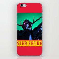 sieg zeong iPhone & iPod Skin