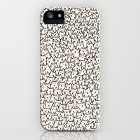 iPhone Cases featuring A Lot of Cats by Kitten Rain