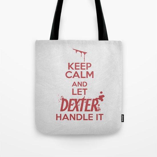 Keep Calm - Dexter Poster 01 Tote Bag
