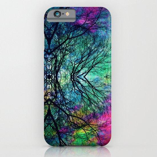 Luminous Tree Rorschach  iPhone & iPod Case