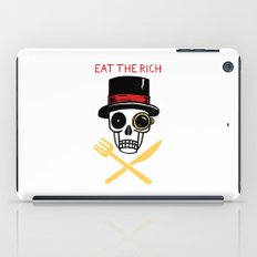 EAT THE RICH iPad Case