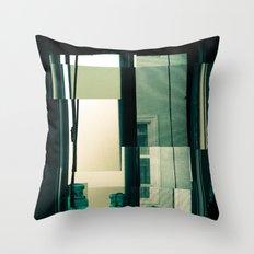 Window Cubism. Throw Pillow
