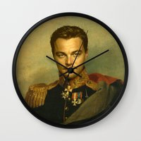 Leonardo Dicaprio - replaceface Wall Clock