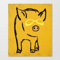Pigster Canvas Print