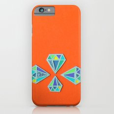 Diamonds Papercut iPhone 6 Slim Case