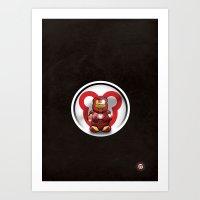 Super Bears - The Invinc… Art Print