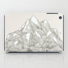 The Mountains and the Woods iPad Case