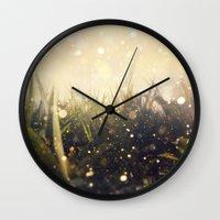 Hidden In The Magic Gard… Wall Clock