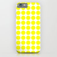 iPhone & iPod Case featuring BIG YELLOW DOT by Mr.DOT
