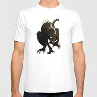 Chupacabra Mens Fitted Tee White SMALL